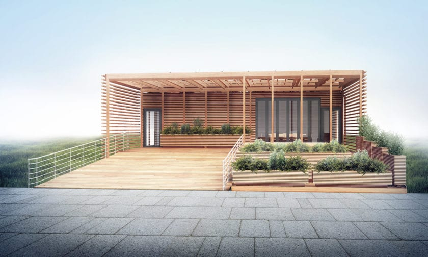 photoshop architectural rendering