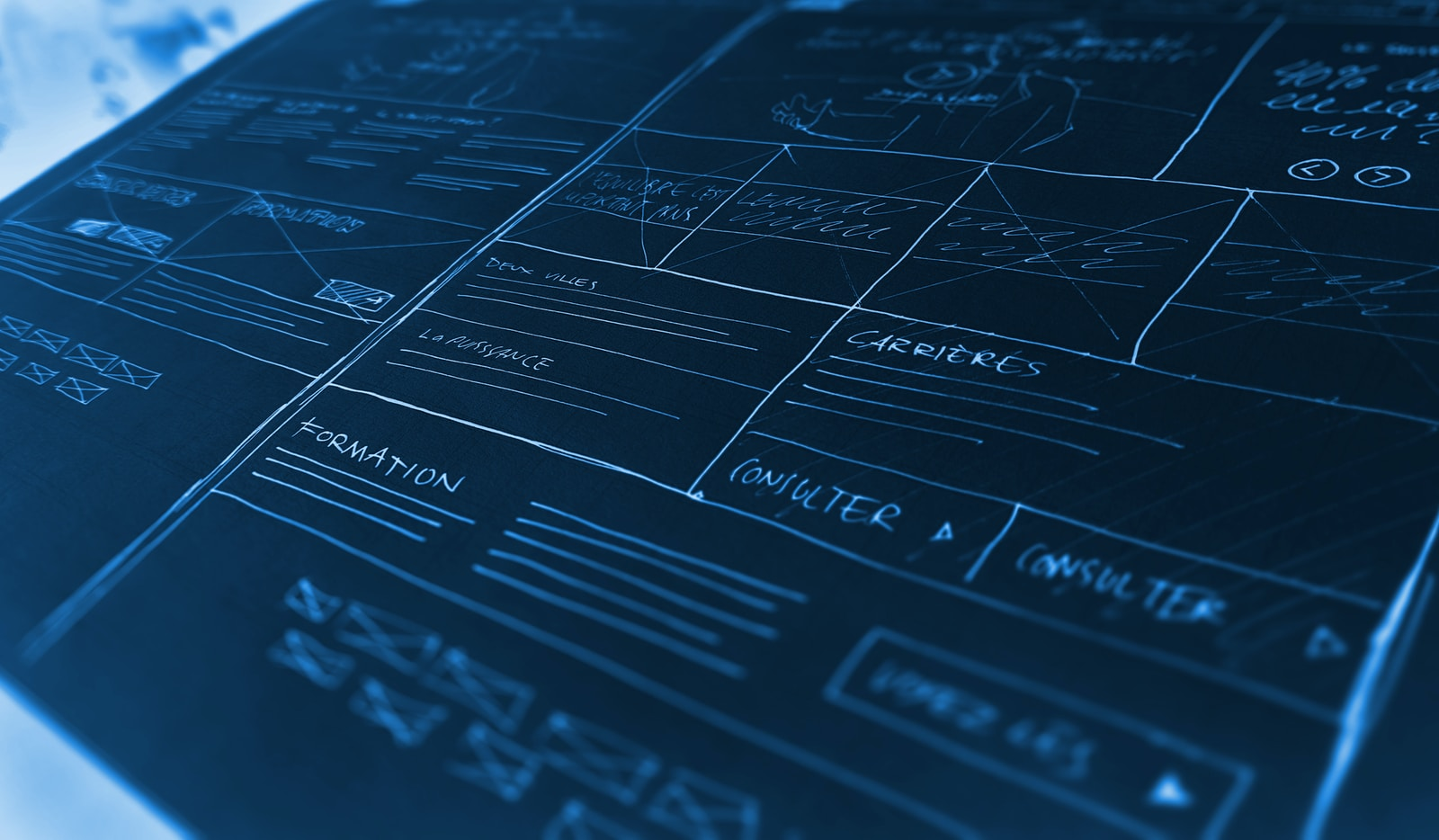 blueprints for a house